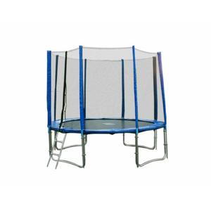 TOP 4UPVC blue trampolína 305 cm s ochrannou sítí + žebřík + krycí plachta + kotvící sada 4 (ks)