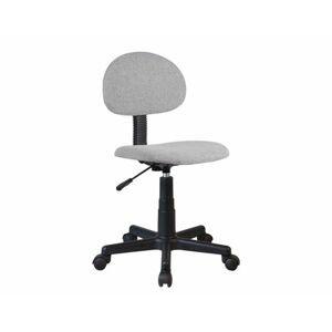 Kancelářská židle SALIM, černá / šedá