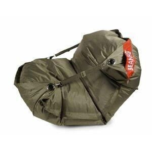 Sedací vak 189x140 comfort s popruhy khaki