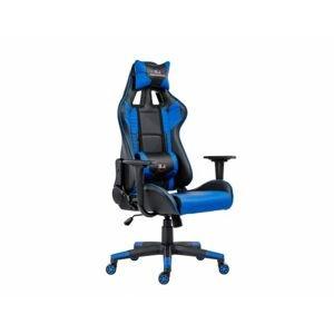 Herní židle REPTILE, modrá