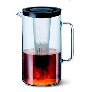 Simax Džbán s vložkou na led a sítkem na čaj 2,5 l Barva víčka: Oranžová