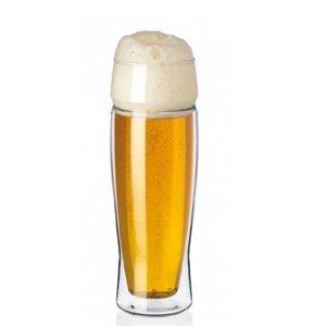Simax Dvoustěnná sklenice na pivo EXCLUSIVE 0,5 l, 2 ks