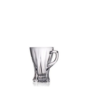 Aurum Crystal Šálky PLANTICA 150 ml, 6 ks