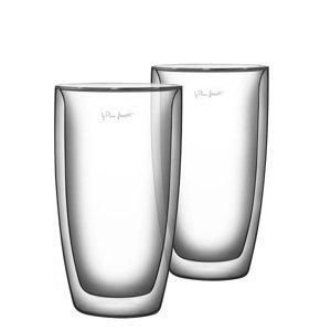 Lamart VASO termo sklenice na latté 380 ml, 2 ks