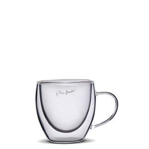Lamart VASO termo šálky na espresso 75 ml, 2 ks