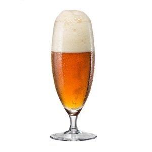 Crystalex Sklenice na pivo na stopce 380 ml, 4 ks