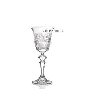 Aurum Crystal Broušené skleničky na likér LAURA 60 ml, 6 ks