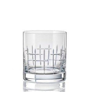 Crystalex Sklenice MATTE CROSS280 ml, 4 ks