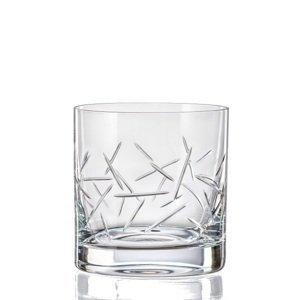 Crystalex Sklenice MATTE ZIG 280 ml, 4 ks