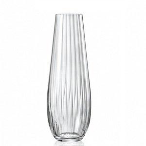 Crystalex Skleněná váza WATERFALL 340 mm