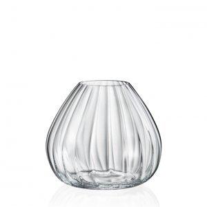 Crystalex Skleněná váza WATERFALL 185 mm