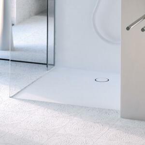 Sprchová vanička čtvercová Geberit 90x90 cm akrylát alpská bílá 154.270.11.1
