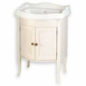 Koupelnová skříňka pod umyvadlo Sapho Retro 60x45 cm starobílá 1684