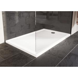 Sprchová vanička obdélníková Huppe PURANO 140x90 cm litý mramor bílá 202159.055