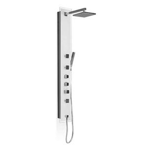 Sprchový panel Roth LUCE KVADRO s termostatickou baterií bílá 4000381