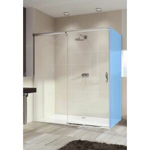 Sprchové dveře 110x200 cm levá Huppe Aura elegance chrom lesklý 401413.092.322.730