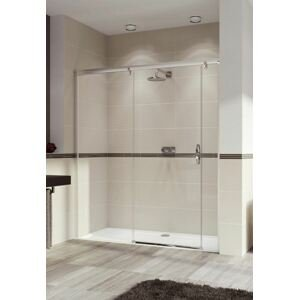 Sprchové dveře 160x200 cm levá Huppe Aura elegance chrom lesklý 401804.092.322.730