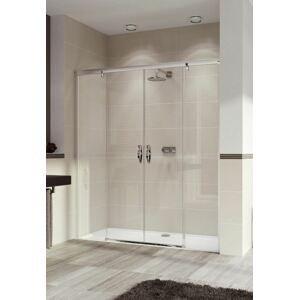 Sprchové dveře 160x200 cm pravá Huppe Aura elegance chrom lesklý 402104.092.322.730