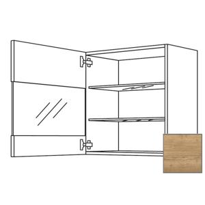 Kuchyňská skříňka horní Naturel Sente24 s dvířky 60x72x35 cm dub sierra 405.WGLS601L