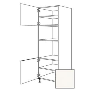 Kuchyňská skříňka vysoká Naturel Erika24 pro troubu a mikrovlnnou troubu 60x214,7x56 cm bílá 450.GMDK1.L