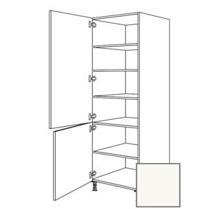 Kuchyňská skříňka vysoká Naturel Erika24 potravinová 60x214,7x56 cm bílá lesk 450.HDV601.L