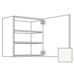 Kuchyňská skříňka horní Naturel Erika24 s dvířky 45x72x35 cm bílá lesk 450.W451.R