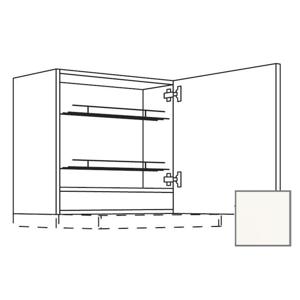 Kuchyňská skříňka horní Naturel Erika24 pro digestoř 60x72x35 cm bílá lesk 450.WDAF657RN