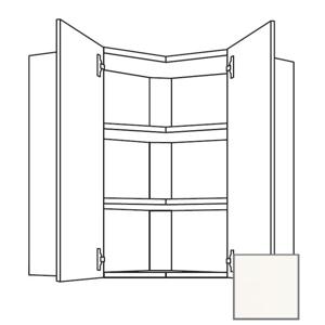 Kuchyňská skříňka horní Naturel Erika24 rohová 65x72x35 cm bílá lesk 450.WE651L