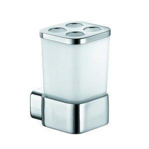 Držák skleniček KLUDI E2včetně skleničky chrom 4998205