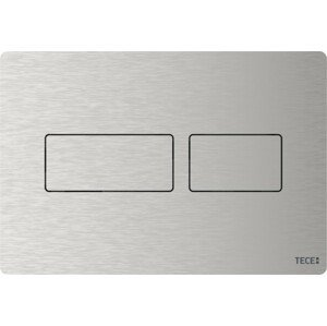 Ovládací tlačítko TECE Solid kartáčovaná nerez 9240434