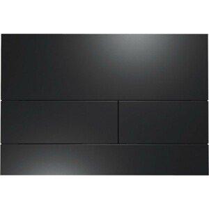 Ovládací tlačítko TECE Square kov černá mat 9240833