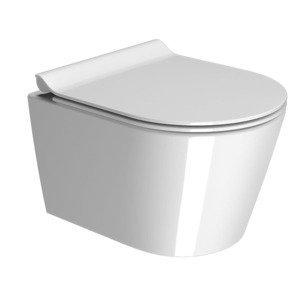 WC závěsné GSI Kube X 46x35 cm bílá 941811