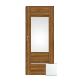 Interiérové dveře Naturel Aura levé 90 cm borovice bílá AURA3BB90L