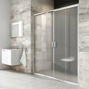 Sprchové dveře 160x190 cm Ravak Blix chrom lesklý 0YVS0C00ZG