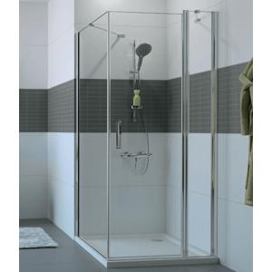 Sprchové dveře Huppe Classics 2 EasyEntry jednokřídlé 100 cm, čiré sklo, chrom profil