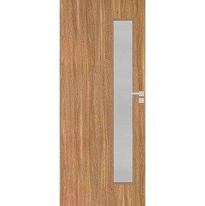 Interiérové dveře Naturel Deca levé 80 cm ořech karamelový DECA10OK80L