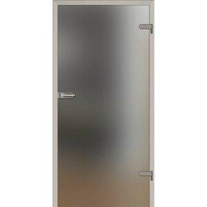 Skleněné dveře Naturel Glasa levé 70 cm matné GLASA1B70L