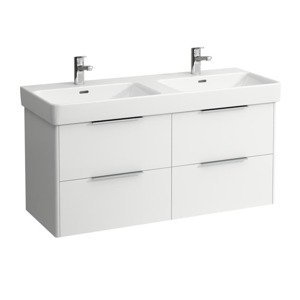Koupelnová skříňka pod umyvadlo Laufen Base 116x53x44 cm bílá mat H4024941102601