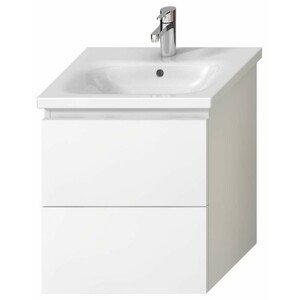 Koupelnová skříňka pod umyvadlo Jika Mio-N 51,4x44,5x59 cm bílá H40J7134015001