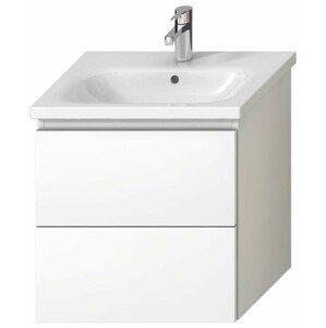 Koupelnová skříňka pod umyvadlo Jika Mio-N 57x44,5x58,8 cm bílá H40J7144015001