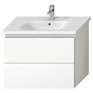 Koupelnová skříňka pod umyvadlo Jika Mio-N 75x44,5x59 cm bílá H40J7164015001