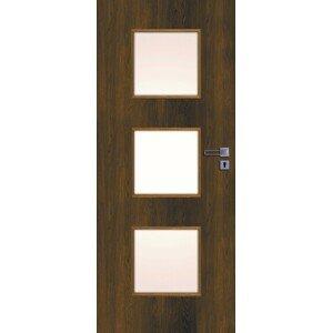 Interiérové dveře Naturel Kano levé 70 cm ořech karamelový KANO30OK70L