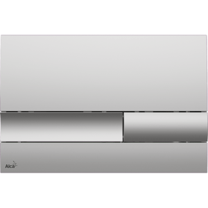 Ovládací tlačítko Alcaplast plast chrom mat M1732
