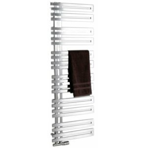 Radiátor kombinovaný Sapho VOLGA 50x150mm, 399W, broušený nerez NR515