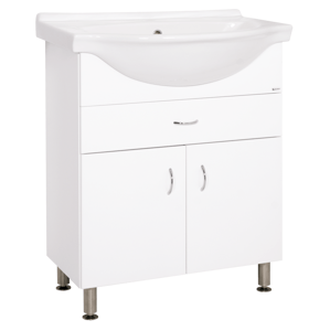 Koupelnová skříňka s umyvadlem Keramia Pro 70x56 cm bílá PRO70Z