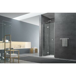 Sprchové dveře 100x195 cm Swiss Aqua Technologies SK chrom lesklý SIKOSK100