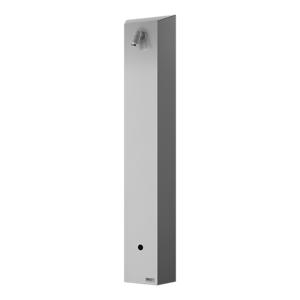 Sprchový panel Sanela na stěnu se senzorem nerez SLSN01EB