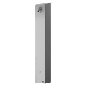 Sprchový panel Sanela na stěnu s vypínačem nerez SLSN01PB
