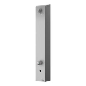Sprchový panel Sanela na stěnu se senzorem nerez SLSN02EB