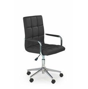 Dětská židle Grid 2, černá